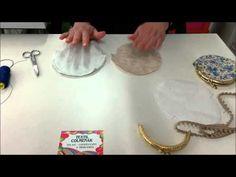 COMO HACER UN BOLSO DE FIESTA - HOW TO PARTY BAG - YouTube                                                                                                                                                                                 Más