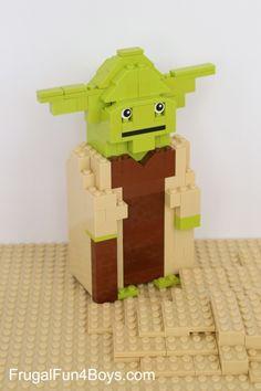 LEGO Yoda Building Instructions