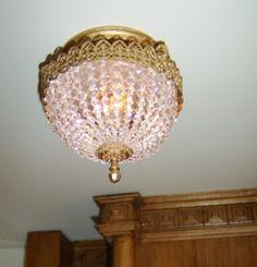 The Titanic miniature .: Titanic Swarovski lamps. More detailed explanation