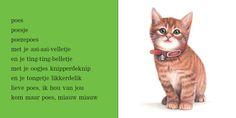 Elly van der Linden - Versje poes