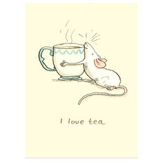 Anita Jeram. I Love Tea.
