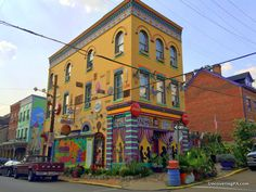 Visiting Randyland in Pittsburgh