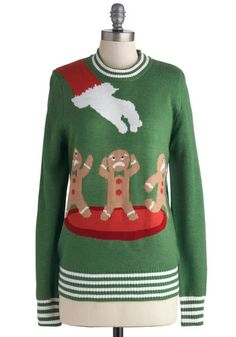 I apologize if you have this sweater - but this would be PERFECT for the ugly Christmas sweater party I am going to!