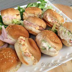 Aquí tienes muchas ideas de rellenos para medias noches, panecillos y croissants diferentes y originales.