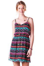 Zambia Printed Dress