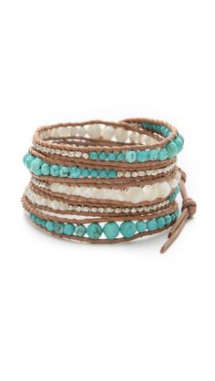 Beaded Wrap Bracelet | SHOPBOP