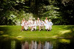 Family Portrat at the Farm of Old Edwards Inn Highlands NC
