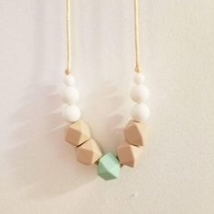 Hey, I found this really awesome Etsy listing at https://www.etsy.com/listing/508116112/teething-necklace-spring-colors-necklace