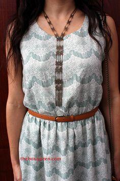 Stitch fix mint lace dress, love!