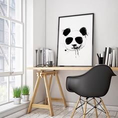 'Cool Panda' #poster #interior #design #print #office #home