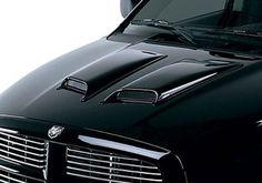 Dodge Ram Accessory - Lund Dodge Ram Large Pair Hood Scoops
