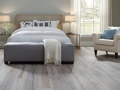 The Difference In Overall Room Lighting Is Very Noticeable When Their Lighter Colored Laminate Floors