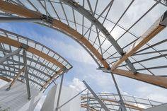 Fundação Louis Vuitton, Frank Gehry. Imagem © Iwan Baan