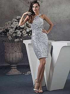 Allover Sequined Sheath Mini Party Dress - USD $108.00 RD dress??