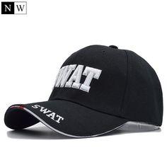 d3c35ca02db Northwood Unisex Swat Tactical Cotton Baseball Hat Snapback Adjustable Baseball  Cap
