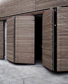 For a garage door