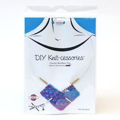 Addi Bamboo Necklace DIY Knit-cessories + Free Shipping!
