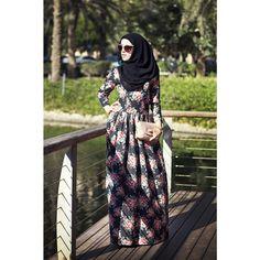 Floral dress Annah Hariri