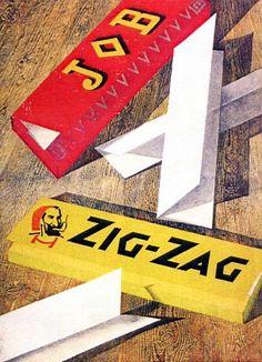 By Jan Bons, 1 9 4 7, Job Zig-Zag. (Dutch)