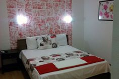 in are composed of a bedroom with 1 double bed, Thessaloniki, Studio S, Double Beds, Studio Apartment, Greece, Blanket, Bedroom, Furniture, Home Decor