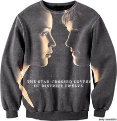 star crossed lovers of district twelve. Hunger Games Catching Fire, Hunger Games Trilogy, Hunger Games Outfits, Movie Outfits, Mockingjay, Katniss Everdeen, Dress To Impress, My Style, Sweatshirts