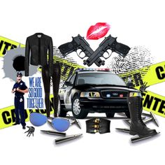 Police Officer by alleygrl on Polyvore
