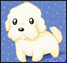 How to Draw a Maltese, Step by Step, Pets, Animals, FREE Online ...