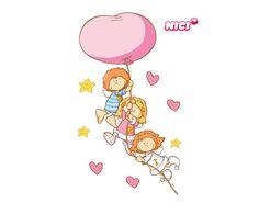 Wandtattoo Little Wingels Freunde Love Cards, Kids Cards, Baby Dolls, Snoopy, Sketches, Clip Art, Valentines, Cartoon, Illustration