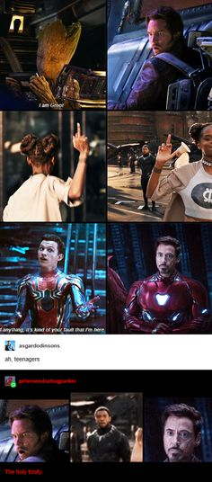Funny Marvel Memes, Dc Memes, Marvel Jokes, Avengers Memes, Funny Comics, Marvel Dc Comics, Marvel Avengers, Marvel Heroes, Disney Marvel