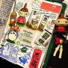小布の手帳 @hobunichi 勁愛龍貓トトロ和a...Instagram photo | Websta (Webstagram)