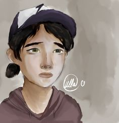The Walking Dead - Clementine by LullaTheOtaku.deviantart.com