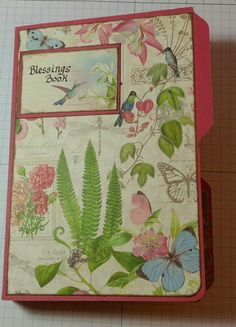 Jan 2015 G45 Botanical Tea - Mini Album: Blessings Book Two by Carole Parsons