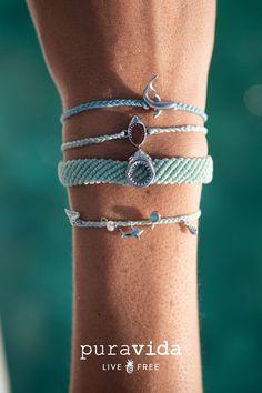 Pura Vida Bracelets, Shark Party, Shark Week, Bead Crafts, Summer Vibes, Surfing, Hair Accessories, Sharks, Oceans