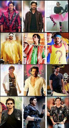 SRK looks in Happy new year....  Follow us @raymondsspaldi....