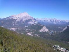 Tur til Canada - British Columbia: The Fairmont Banff Springs og Sulphur Mountain