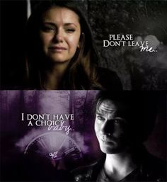 The Vampire Diaries: season 5 finale, Elena and Damon