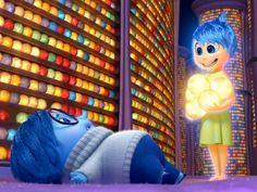 Entertainment Podcast: Inside Out Goes Deep Into Our Subconscious Sadness Inside Out, Joy Inside Out, Movie Inside Out, Joy And Sadness, Disney Inside Out, Walt Disney Animation, Animation Film, Animation Studios, Disney Pixar Movies