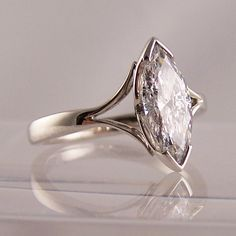 RING jewellers - 1.33ct Marquise cut diamond engagement ring http://www.ringjewellery.co.uk/diamondradiant.htm