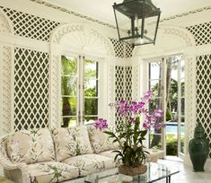 Chic Shore Decor. Gorgeous porch poolside or by the shore. As Seen in The Scout Guide. The Scouted Life Blog. @The Scout Guide Jackson