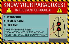 Know your paradoxes !| Portal 2 poster art