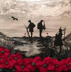 Commissioned by Poppy Scotland as their World War One Armistice Centenary image, Jacqueline's painting, Scotland Remembers, reflects the distinctive Poppy Scotland remembrance poppy and commemorates the 100 years since the end of WWI. Remembrance Day Posters, Remembrance Day Pictures, Remembrance Day Poppy, Remembrance Day Drawings, Military Drawings, Military Tattoos, Army Tattoos, Indian Tattoo Design, Ww1 Art