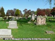 Cold Springs Cemetery is a historic cemetery built in 1815 by Architect Fred E. Knight  http://niagaracountyentertainment.com  niceinfo@niagaracountyentertainment.com