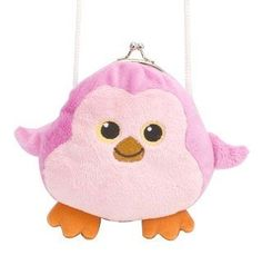 "Clasp Pink Penguin Purse 6"" by Wild Republic Wild Republic, http://www.amazon.com/dp/B004ZT6G32/ref=cm_sw_r_pi_dp_yhfRpb0ZVJRBE"