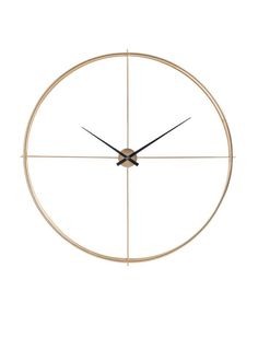 Grande Horloge murale de la marque J-line chez Kotecaz. Style Retro, Decoration, Clocks, Game, Clock, Large Wall Clocks, Large Clock, Retro Chic, Home