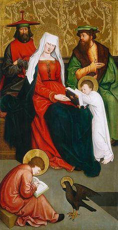 Bernhard Strigel - Maria Salome und ihre Familie (National Gallery of Art)