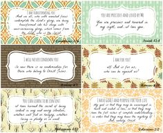 "Enjoy these FREE printables from P31 Online Bible Studies taken from Chapter 12 of our current study ""A Confident Heart"" by Renee Swope.   Set 4"