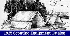 1925 Scouting Equipment Catalog | Scoutmastercg.com