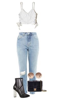 """""""twenty-two"""" by kimberlynglam on Polyvore featuring Topshop, Hollister Co., Steve Madden, Chanel and Chloé"""