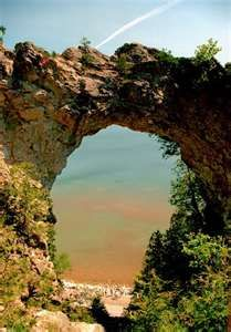 Arch Rock ~ Mackinaw Island Michigan. Went here on vacation this summer, it so much fun! and gorgeous!