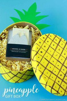 Easy Pineapple Gift